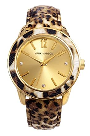 Amazon.com: Watch Mark Maddox Mc3004-99 Women´s Gold: Mark Maddox: Watches