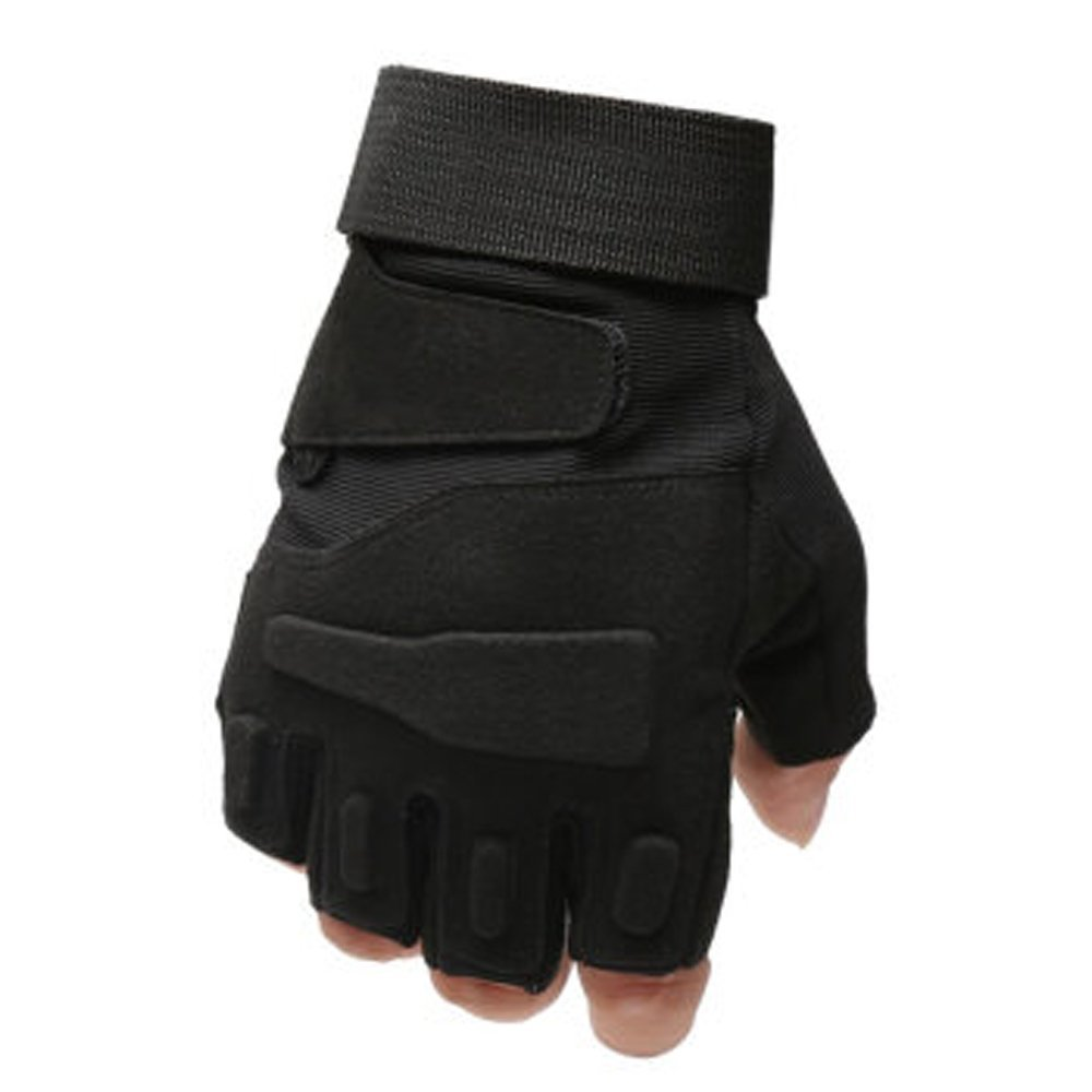 KUYOMENS Military Half-finger Fingerless Tactical Airsoft Gloves