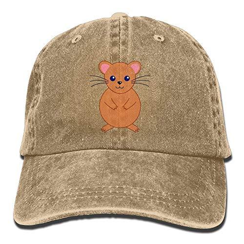 Women Hat Cowgirl Cowboy DEFFWB Hamster Skull Hats Cap Denim Cute for Sport Men qx70af