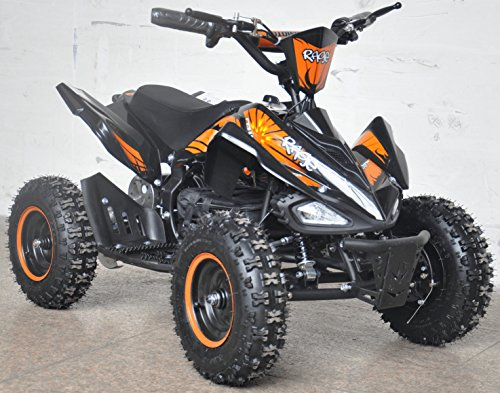 Rage Monster Extreme Electric Quad Bike 36v Orange by Rage