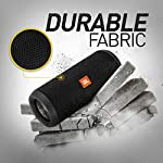 JBL Flip 3 Stealth by Harman Waterproof Portable Bluetooth Speaker with Rich Deep Bass (Without Mic, Black)