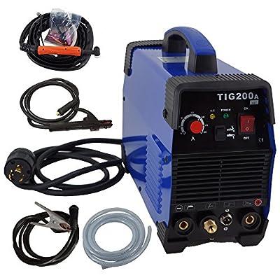 200A Inverter TIG Welder Pulse Digital High Frequency TIG Welding Machine MMA Stick Mosfet 60% D/C Welder Machine Digital Control …