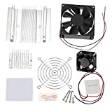 Easy Electronics TEC1-12706 Thermoelectric Peltier Module Cooler Cooling System with Heatsink Set + 2-Fan + Accessories