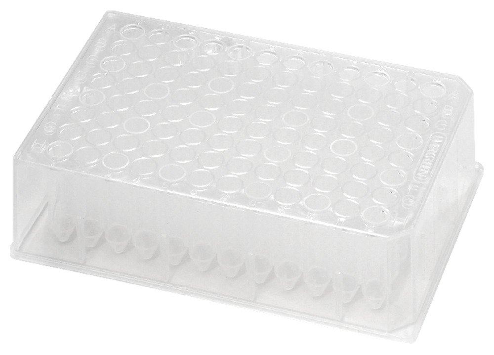 Caplugs Evergreen 290-8553-08N 96-Well Deep-Well Plates. Polypropylene Co-Polymer, Natural, Bag pack by Caplugs