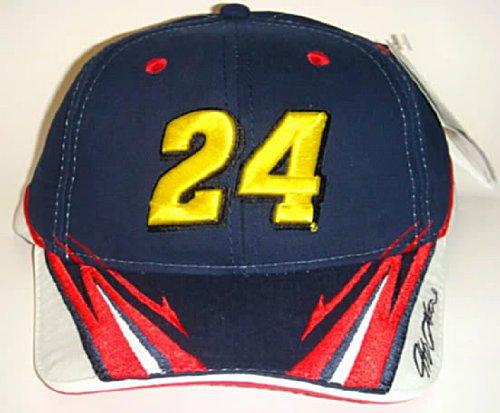 NASCAR-24-Jeff-Gordon-Dupont-Motorsports-Velcro-Pit-Cap