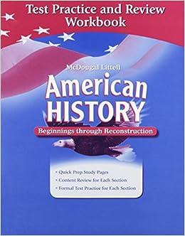 Amazon com: American History: Beginnings through