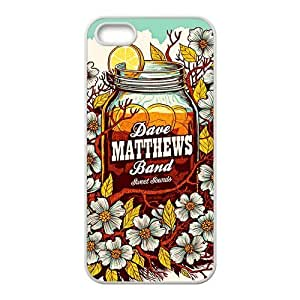 Dave Matthews Band 5s Cases TPU Rubber Hard Soft Compound Protective Cover Case for iPhone 5 5s