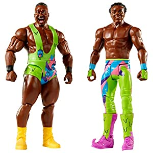 WWE Series # 51 Big E & Xavier Woods Figures, 2 Pack