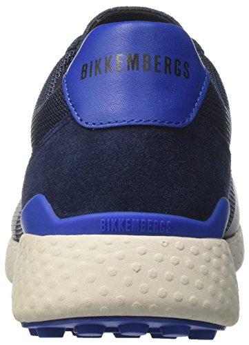 a Bikkembergs Strik Navy Basso Uomo Blu Collo Er 925 Sneaker qwHwfI4
