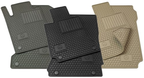 Mercedes-Benz Genuine OEM All Season Floor Mats 2003 to 2009 CLK-Class Coupe models