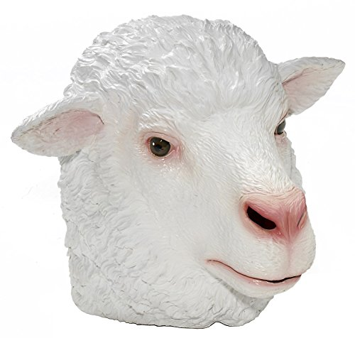 Forum Novelties Men's Adult Latex Sheep Mask, Multi Colored, One -