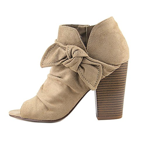 Booties Side Rd Bow Taupe Indigo Izador wRqIExR0n