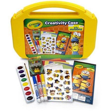 Crayola 5255810 Creativity Case Minions