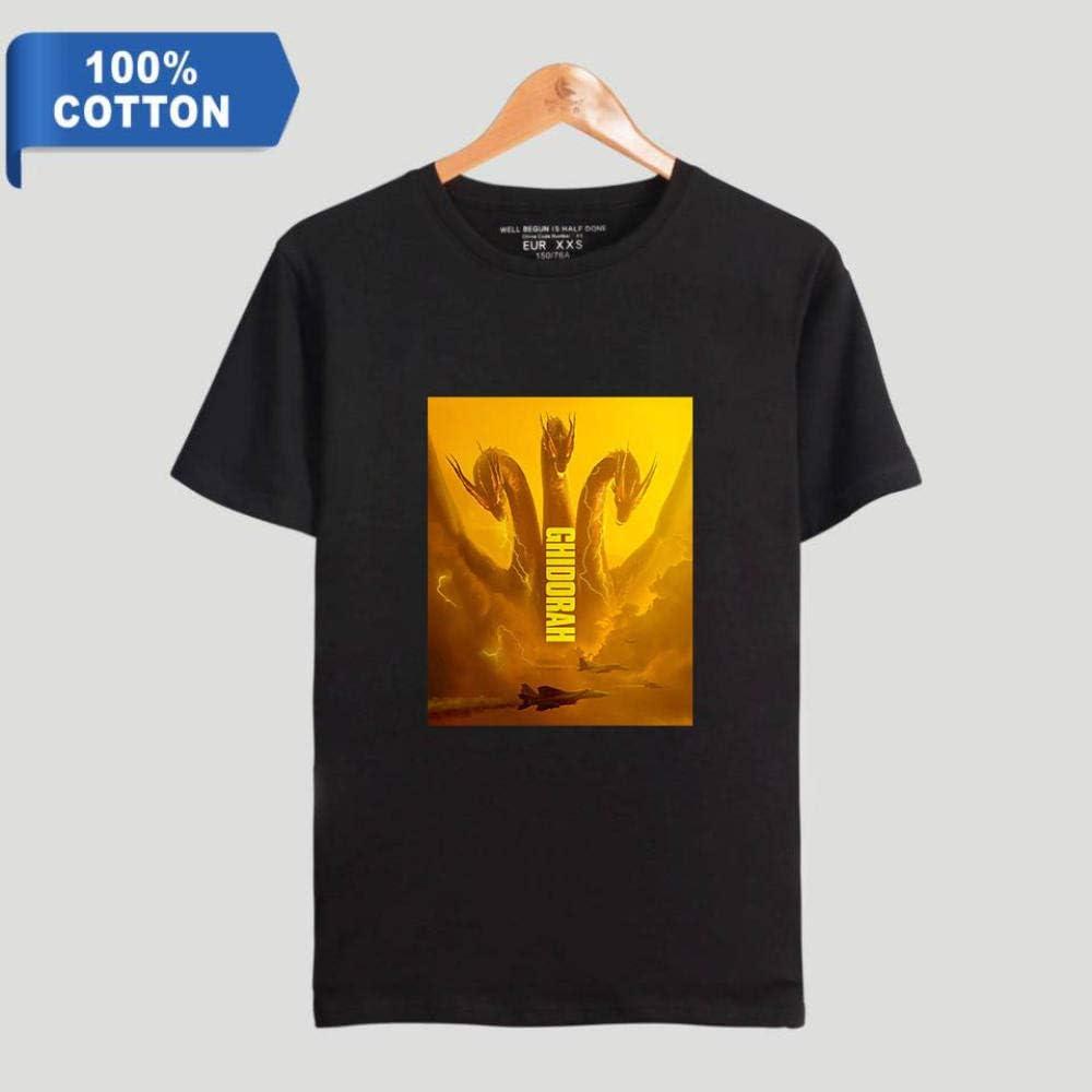 Camisetas Camiseta Negra De Algodón para Hombre, Camiseta Monster ...
