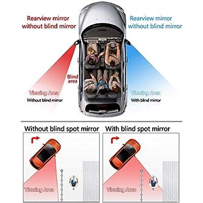 Homesprit 2 Pack Blind Spot Mirror, 2