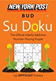New York Post Bud Su Doku (Difficult), HarperCollins Publishers Ltd. Staff, 0062265636