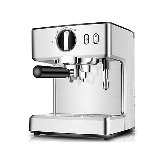 JLL Máquina de café Espresso, cafetera Cappuccino con vaporizador ...
