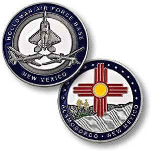 Holloman Air Force Base Challenge Coin