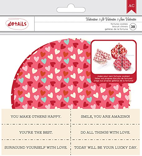 42 Fortune Cookie Kit Valentine's Fortune Cookie Kit 38Piece (Valentine Fortune Cookies)