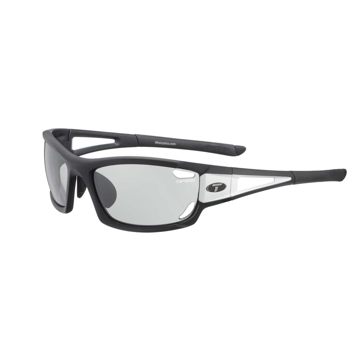 acda42af2e Amazon.com: Tifosi Dolomite 2.0 1020304831 Wrap Sunglasses,Black &  White,141 mm: Clothing