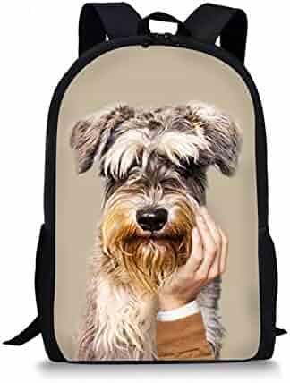 Luggage & Bags Forudesigns Floral Boston Terrier 3d Print Canvas Backpacks Teenage Girls Boys School Backpack Fashion Campus Bookbags Rucksack