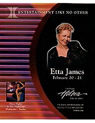 Etta James original clipping magazine photo 1pg 8x10 #R0268