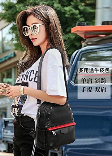 Sac à Sac à Dos Main ZHXUANXUAN Mode Lady Black Coréenne BYwtYUI