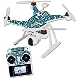 Skin For Blade Chroma Quadcopter – Deco Fish | MightySkins Protective, Durable, and Unique Vinyl Decal wrap cover | Easy To Apply, Remove, and Change Styles | Made in the USA