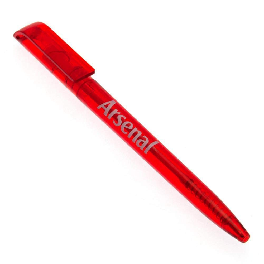 One Size Red Arsenal FC Official Retractable Pen