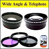 Best Big Mike's Macro Digital Cameras - Deluxe Lens Kit for CANON HFG10 HFS10 HFS100 Review