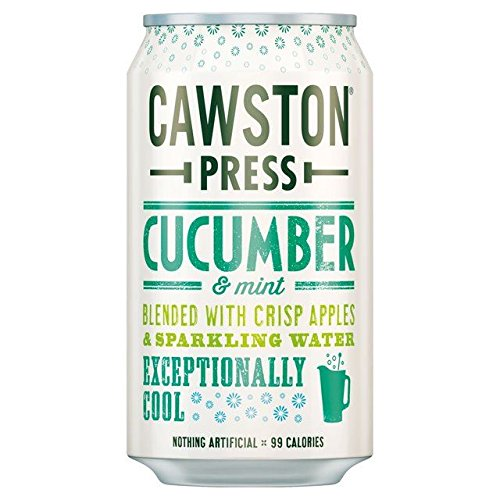 Cawston Press Cawston Press Sparkling Cucumber & Mint Can 330ml (Pack of 24) by Cawston Press