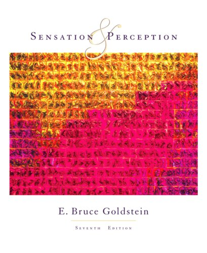 Sensation and Perception (Available Titles CengageNOW)