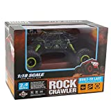 DeluxeRC 1:18 RC Rock Crawler Buggy 4WD - Green - 2.4 GHz