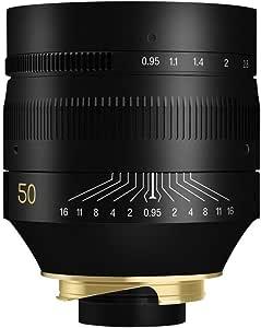TTArtisan 50mm F0.95 Full Frame Manual Focus Lens for Leica M-Mount Cameras Like Leica M-M M240 M3 M6 M7 M8 M9 M9p M10
