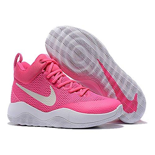 NIKE Mens Zoom Rev 2017 Mens Basketball-Shoes 852422 Pink Qz1Y9BeJ