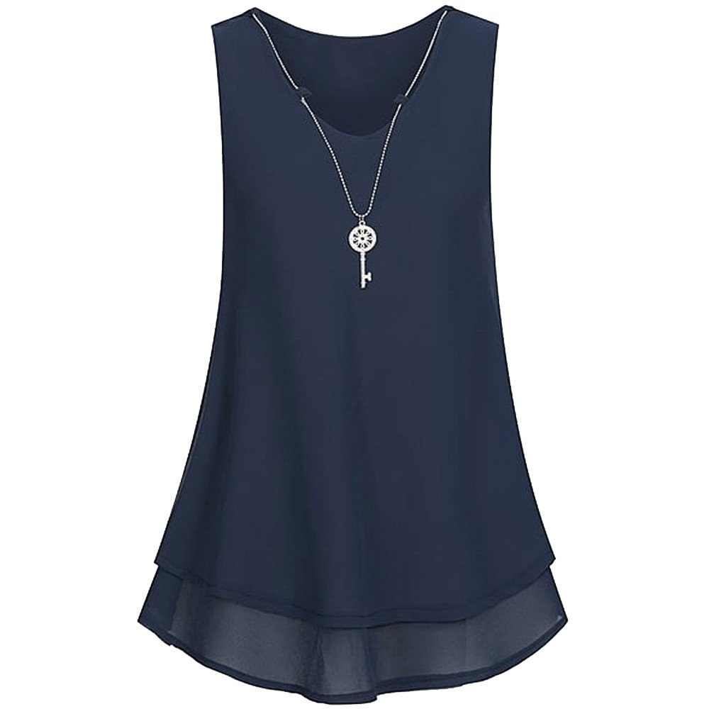 n-26s Next Navy Mix  Chiffon Style Strappy Top Sizes 8-12 New