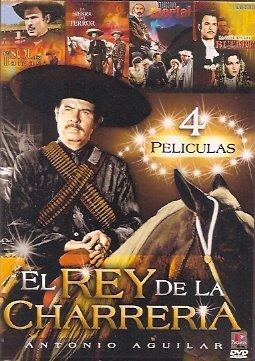 Antonio Aguilar: El Rey De La Charreria - 4 Pk (4 Peliculas) (Peliculas Terror)