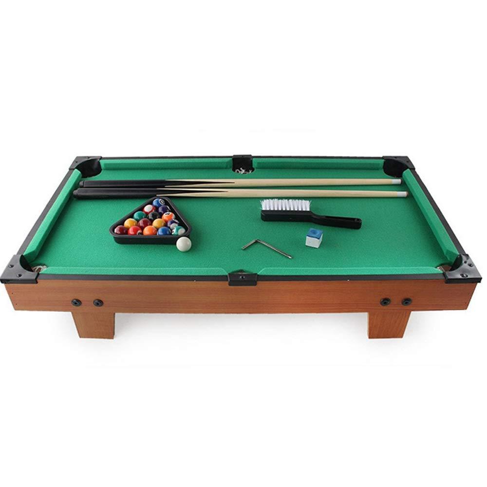 Ybriefbag-Sports Tabletop Billiards Mini Pool-Billiard Table Tabletop Toy Miniature Billiard with Mini Pool Balls Cue Sticks Accessories for Adults Kids Desktop Miniature Pool Table by Ybriefbag-Sports