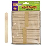 Pacon Jumbo Natural Craft Sticks,100 pieces per pack