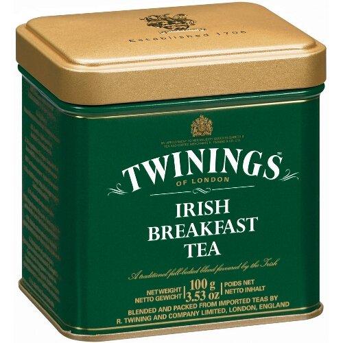 Twinings Irish Breakfast 100 Gram Loose Tea Tin, Set of 2 ()
