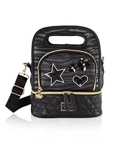 Betsey Johnson Top Handle Insulated Lunch Tote Box (Animal Lunch)
