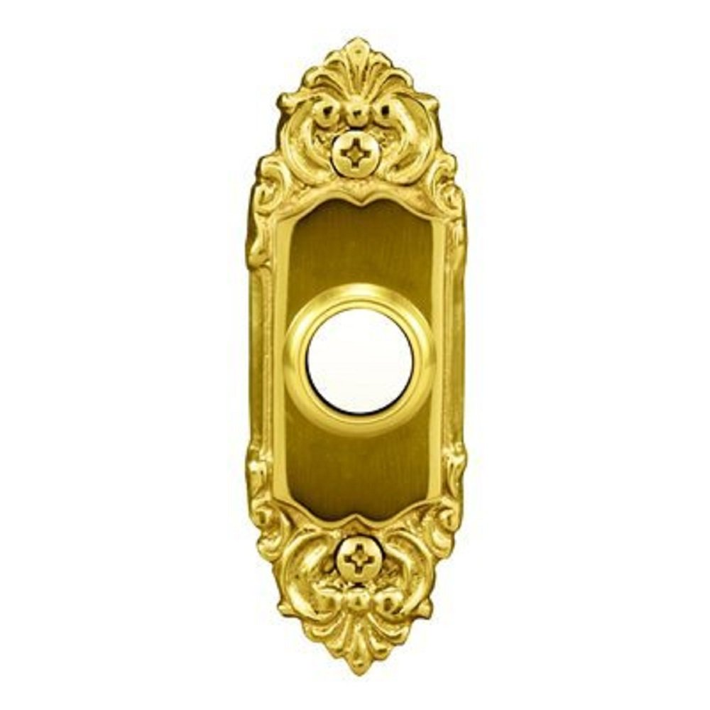 Heath/Zenith (LE-216-A) Wired Push Button Door Bell - Solid Brass