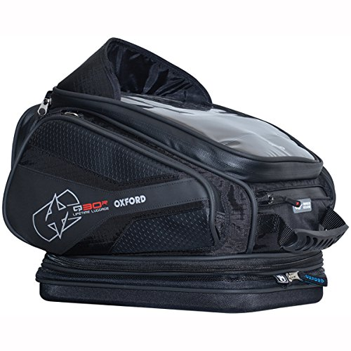 (Oxford OL272 Blue 30 L Tank Bag (Q30R Quick Release Motorcycle),1 Pack)
