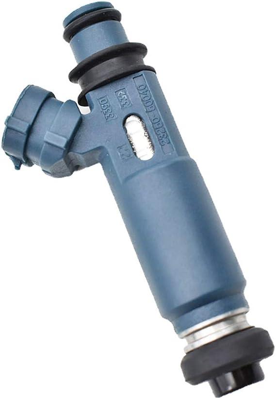 Aintier 4 Hole 8 pcs Gasoline Fuel Injectors Set 23250-0F020 fit for 2005-2009 Lexus GX470 2006-2007 Lexus LX470 2005-2009 Toyota 4Runner 2005-2007 Toyota Land Cruiser 2005-2009 Toyota Sequoia