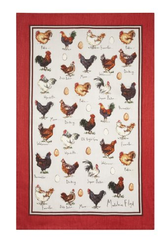 Ulster Weavers Madeleine Floyd Chicken and Egg Linen Tea - Three Clothing Floyds