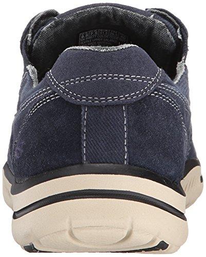 Skechers Ee. Uu. Hombre Elegido Fultone Con Cordones Oxford Sneaker Navy