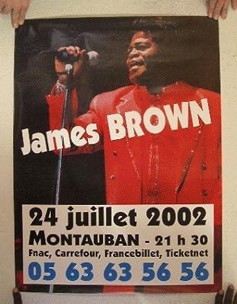 Amazon.com: James Brown July 24th 2002 German Tour Poster ...