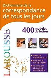 Dictionnaire de la correspondance de tous tes Jours