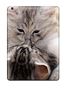 OEmlCuR12989cgRvN AnnDavidson Two Cute Kittens Durable Ipad Air Tpu Flexible Soft Case