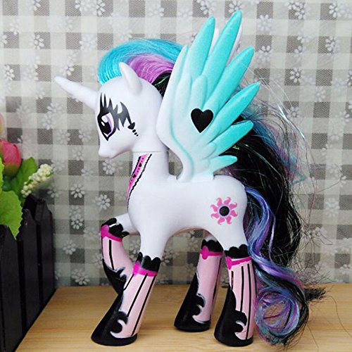 14cm Makeup Sun Princess Celestia My Little Pony Doll Action Figure Toy Kid Gift (My Little Pony Equestria Girl Costume)